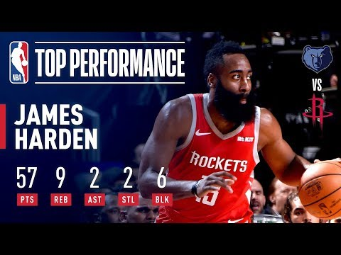 Video: James Harden's EPIC 57 Point Performance | January 14, 2019