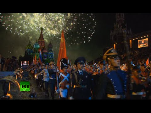 blast - The best military orchestras from around the world have invaded Russia's iconic Red Square in the heart of Moscow to take part in Spasskaya Tower international military music festival. This...