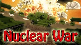 Minecraft | NUCLEAR BOMB CHALLENGE - Surving Nuclear Apocalypse! (NUKES)