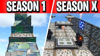This Deathrun Map goes from Season 1 to Season 10! (Fortnite Creative)