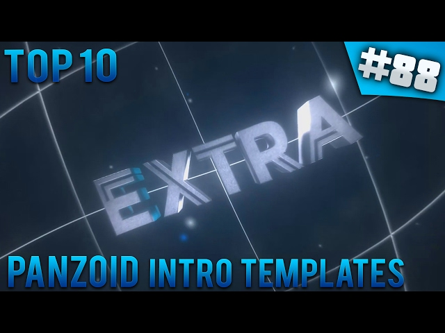 Top 10 panzoid intro templates 88 free download for Intro templates free download