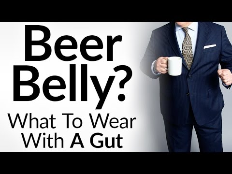 Stylish With A Beer Belly? | Dress Sharp With A Gut | Clothing For Larger Men