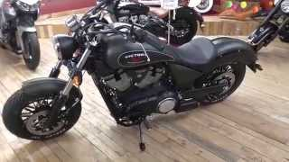 8. 2015 Victory Motorcycles Gunner Metalic Suede Green