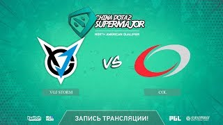 VGJ Storm vs coL, China Super Major NA Qual, game 2 [Autodestruction]