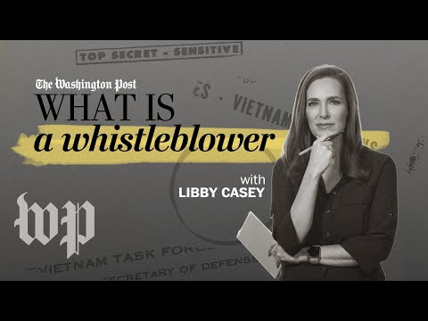 Whistleblowing 101 | How to be a journalist | The Washington Post