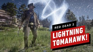 Red Dead Redemption 2 Lightning Tomahawk Weapon Mod by IGN