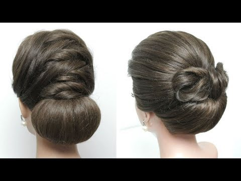 2 Easy Bridal Updo Hairstyles For Long Hair