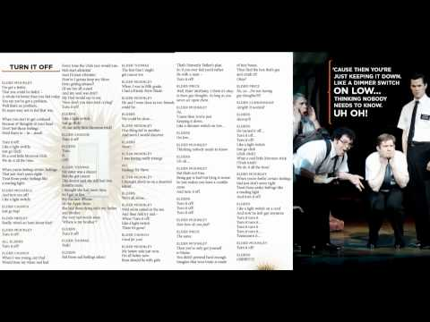Book of Mormon - Turn it off - Lyrics