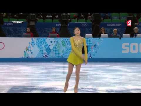Le programme court de Kim Yuna – JO Sotchi 2014