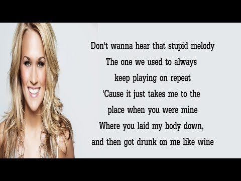 Carrie Underwood - That Song That We Used To Make Love To (Lyrics)🎵