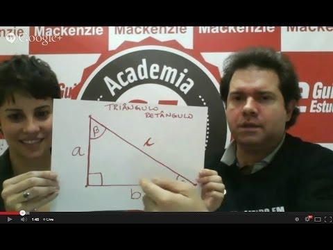 Academia GE: Como estudar Trigonometria para o vestibular e o Enem?