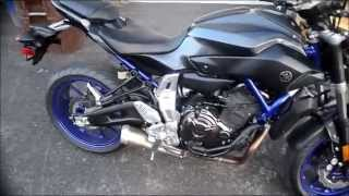 6. 2015 Yamaha FZ07 FZ-07 review EXHAUST / Pros and Cons / Camera Test