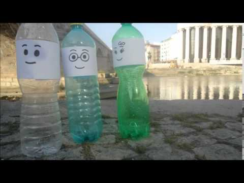 Plastic bottle's second life