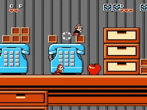 chip and dale rescue rangers 2 nes cheats