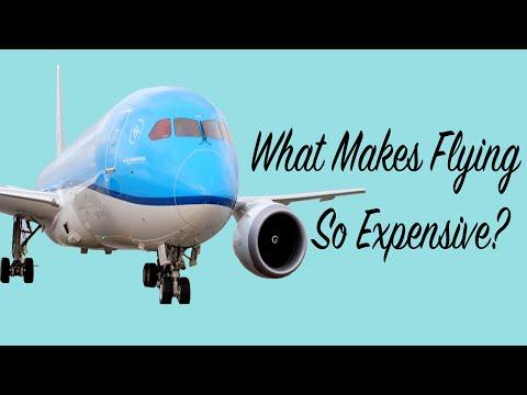 Proč jsou letenky tak drahé?