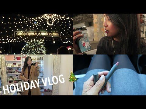 Holiday Vlog 2015 #2   Toronto Christmas Market + Zara/Sephora Haul