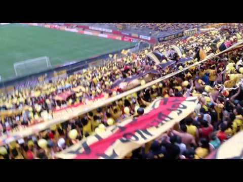 ☂SUR OSCURA☂Salida del Idolo Barcelona vs nacional 26/10/2014 - Sur Oscura - Barcelona Sporting Club