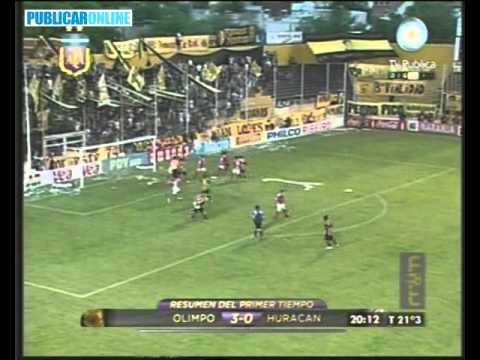 David Vega anota frente a Huracán (Apertura 2010)