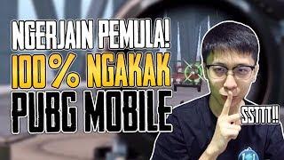 Video NGERJAIN PEMULA! 100% NGAKAK! - PUBG Mobile Indonesia MP3, 3GP, MP4, WEBM, AVI, FLV Januari 2019