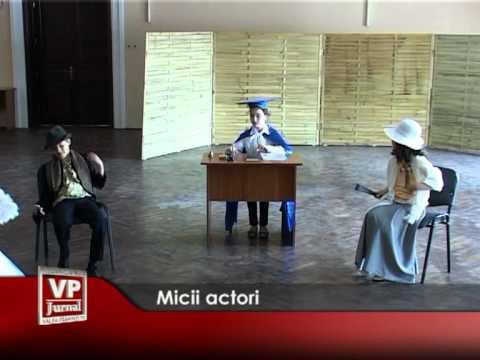 Micii actori