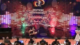 Miriam Schmid & Fabian Kuhn - Deutsche Meisterschaft 2014