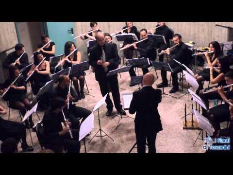 Pergolesi - Largo dal Concerto in Sol Maggiore - Nicola MAZZANTI, I Flauti di Toscanini