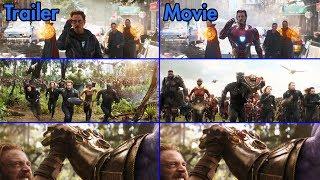 Video Avengers: Infinity War - Trailer vs Movie Comparison [4K UHD] MP3, 3GP, MP4, WEBM, AVI, FLV Agustus 2018
