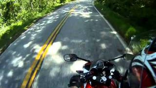 9. 2011 Honda CBR250R Test ride through Twisties