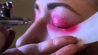 Fantasy Airbrush Makeup - Michigan Makeup Academy - Part 2