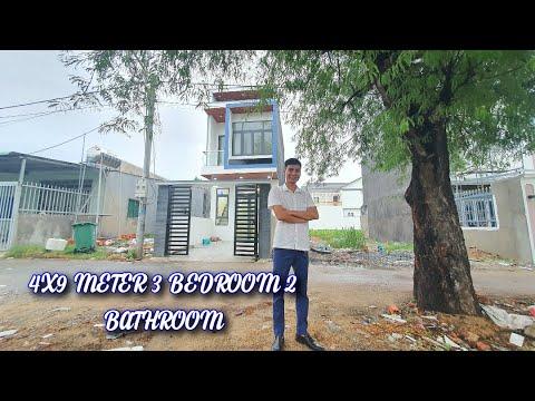 Nhà Đẹp Binh Dương- nhà 1 trệt 1 lầu - 4x10 m model house - 3 bedrooms 2 bathrooms - nice house
