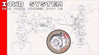 9. 2018 Honda Pioneer 1000 LE i4WD System