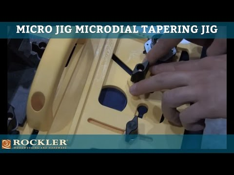 Micro Jig Microdial Tapering Jig at AWFS 13