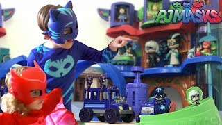 """We take a look at all the new PJ Masks toys in this PJ Masks Episodes to see which is best value. We've had a lot of fun with our PJ Masks Toys so far but now it's time for a proper review.Here's what we look at today:PJ Masks Rival Racers Race Track Playset - Ages 3+, SRP $39.99What's Included:• One PJ Masks race track playset• One 3"""" Catboy figure• One Cat-Car vehicle• One Night Ninja Bus• Two vehicle launchers• Pop up Luna Girl piece• Spinning Romeo piecePJ Masks Talking Action Figures - Each figure sold separately. Requires 3 x AG13 batteries (included). Ages 3+, SRP $12.99 The PJ Masks Mini Romeo's Lab - Each Mini Vehicle sold separately. Ages 3+, SRP $6.99PJ Masks Transforming Figure Set - Each set sold separately. Ages 3+, SRP $14.99PJ Masks Romeo & Romeo's Lab vehicle set - Each set sold separately. Ages 3+, SRP $14.99PJ Masks Night Ninja & Night - Each set sold separately. Ages 3+, SRP $14.99PJ Masks Deluxe Dress Up Top & Mask Set – Each set sold separately. Ages 3+, SRP $17.99PJ Masks Deluxe Friends Collection Pack - Ages 3+, SRP $29.99Toys provided on loan by Just Play."""