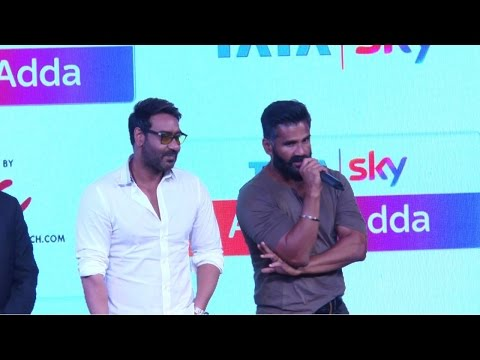 """Ajay Is One Of The Finest Human Being"" Said Suniel Shetty"