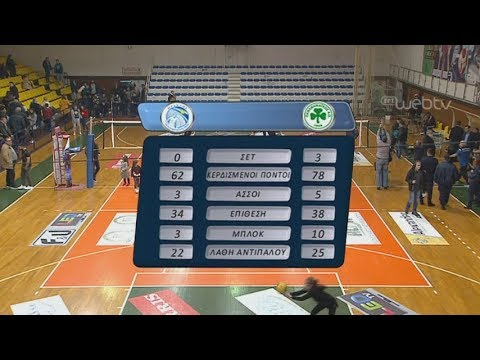 Volley League: ΗΡΑΚΛΗΣ – ΠΑΟ | 16/02/2020 | ΕΡΤ