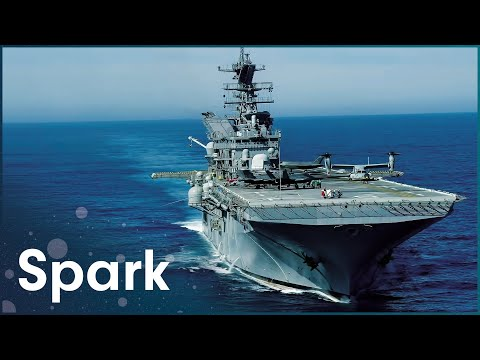 The Enormous USS Ronald Reagan Carrier   Aircraft Carrier: Guardian Of The Seas   Spark