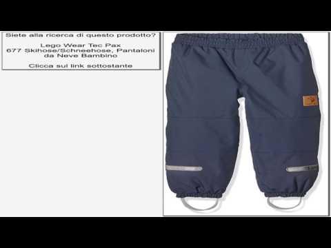 Lego Wear Tec Pax 677 Skihose/Schneehose, Pantaloni da Neve Bambino