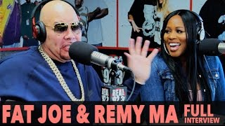 BigBoyTV - Fat Joe & Remy Ma on New Single 'All The Way Up ft. French Montana'