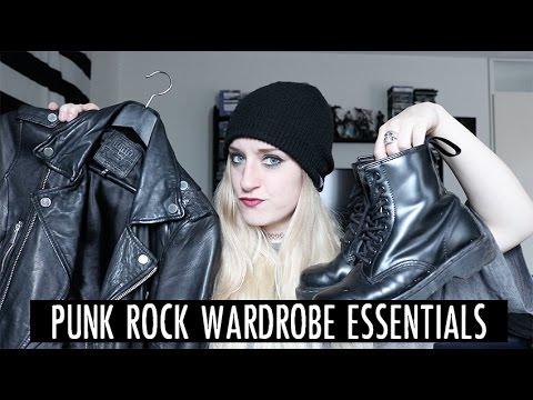 Punk Rock Wardrobe Essentials! | Rocknroller