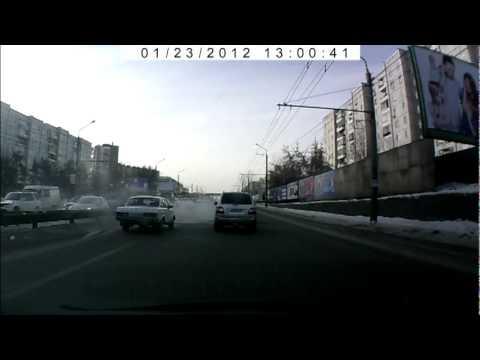 Металлургов проспект, 24 января 2012, Лада 2107