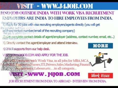 Gulf  recruitment, Gulf  job with visa, Gulf  free visa recruitment, Gulf  work visa permit,