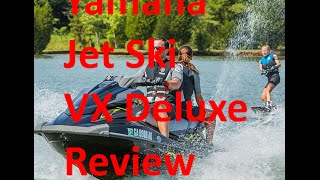 8. Yamaha Jet Ski Review - VX DELUXE  - 2015 Black Wave Runner