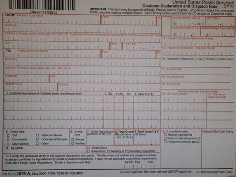 picture relating to Ps Form 2976 Printable identified as Usps style 2976 - Fill Out and Indicator Printable PDF Template