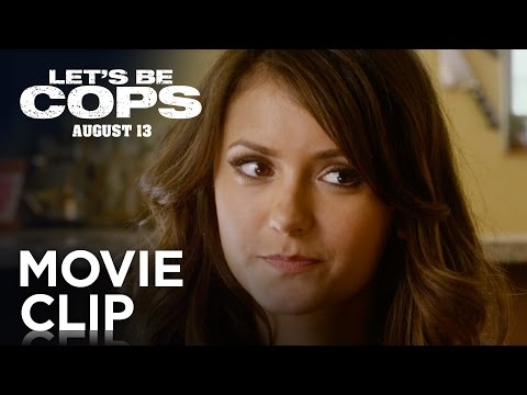 "Let's Be Cops | ""Not A Cop"" Green Band Clip [HD] 