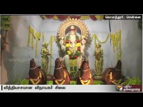 Huge-Ganesh-idol-made-of-3450-pineapples-in-Chennai