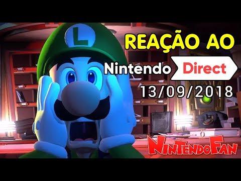 Minha Reação ao Nintendo Direct de 13/9/2018