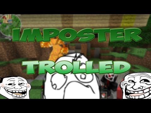 Trolling My Imposter in Minecraft (видео)