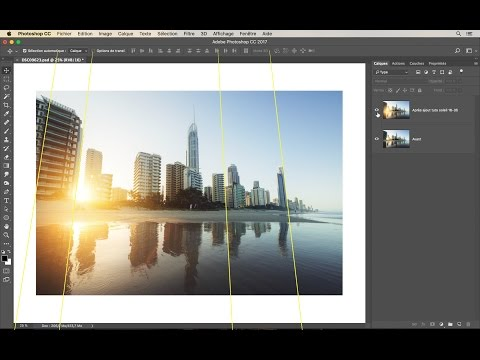 Tuto Photoshop : Correction des perspectives !
