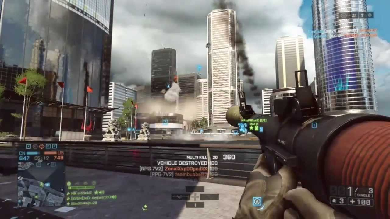 BF4 RPG and Sniper Highlights