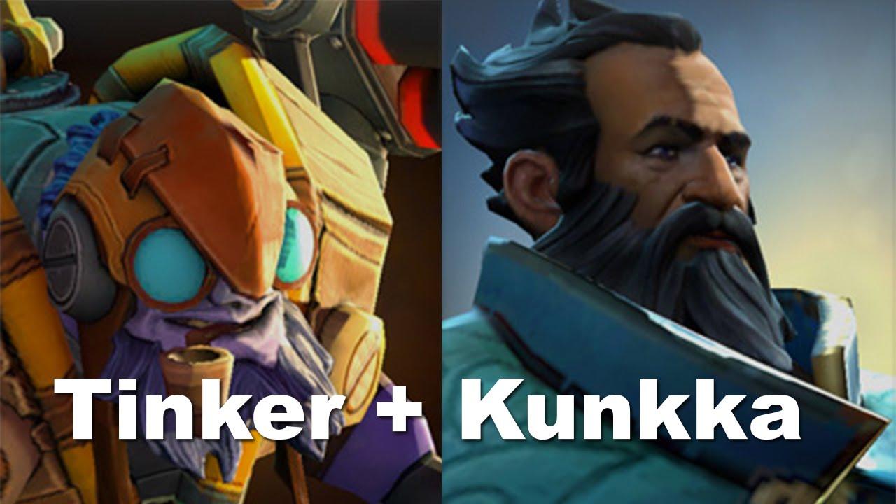 Dota 2: Combo bá đạo của Tinker và Kunka